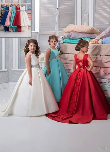 Платье для девочки Виттория 17-674