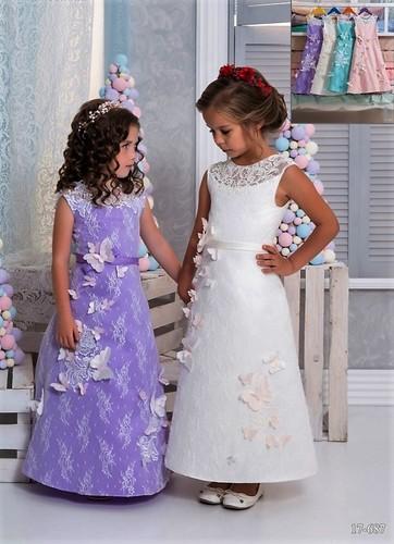 Платье для девочки Виттория 17-687
