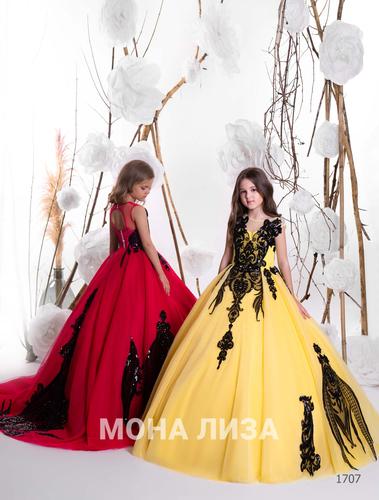 Нарядное платье для девочки Виттория 1707