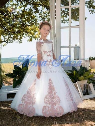 Платье для девочки Жоржета Д-467