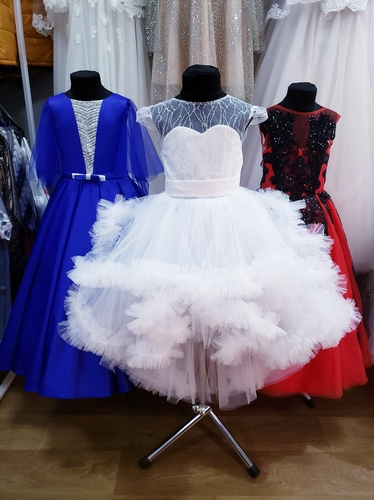 Платье для девочки 175