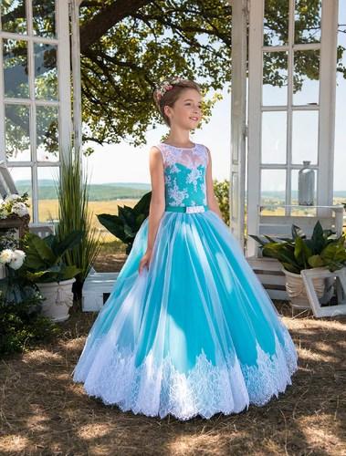 Платье для девочки Жоржета Д-478