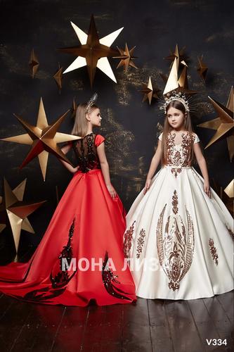 Нарядное платье для девочки Виттория 334