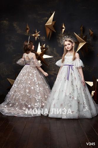 Нарядное платье для девочки Виттория 345