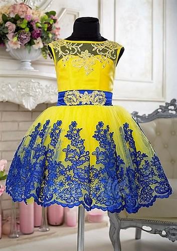 Платье для девочки Виктори Д901