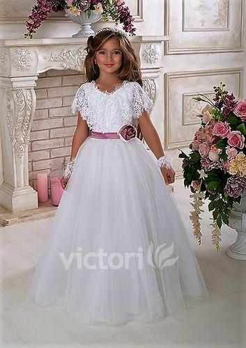 Платье для девочки Виктори Д929