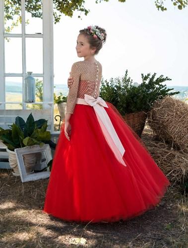 Платье для девочки Жоржета Д-455