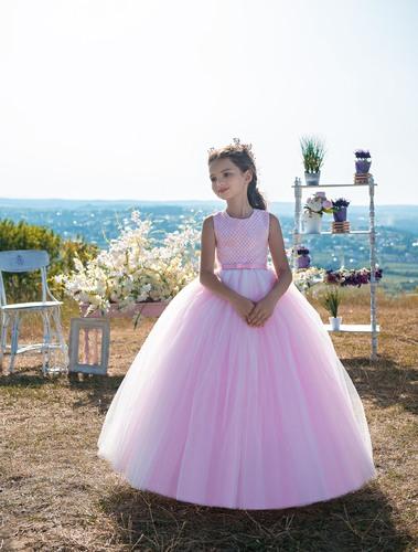 Платье для девочки Жоржета Д-465