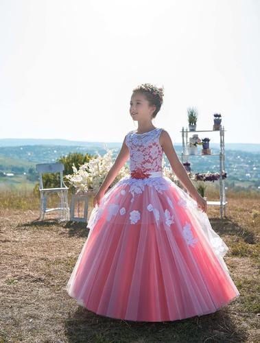 Платье для девочки Жоржетта Д-474