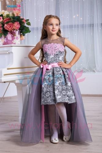 Платье для девочки Виктори Д961