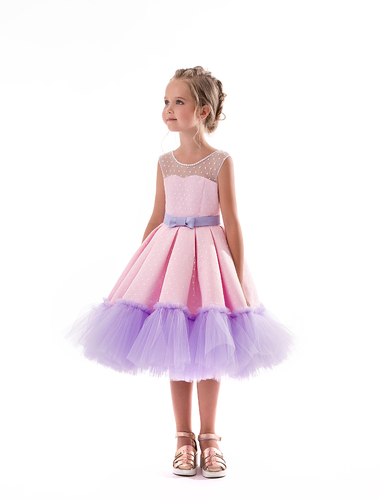 bc0620dbfb8 Нарядное платье на девочку Барби 2167