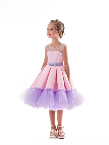 Нарядное платье на девочку Барби 2167