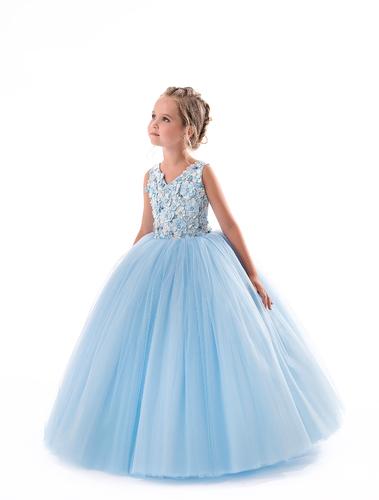 Нарядное платье на девочку Барби 2430
