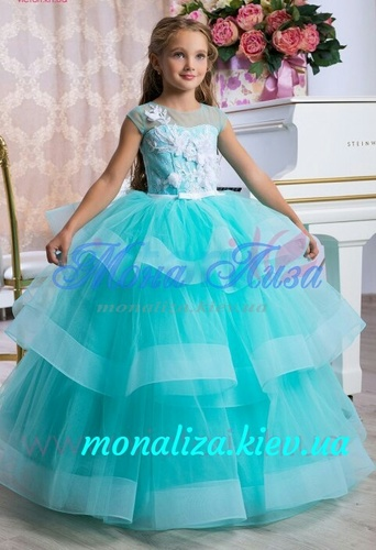 Платье для девочки Виктори Д975