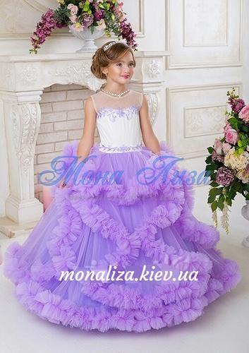 Платье для девочки Виктори Д934